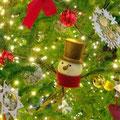阪急西宮ガーデンズのクリスマスの飾りつけ。