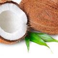 ココナッツオイルの原料。ココナッツの実。
