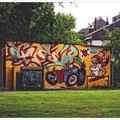 """N° 0058 A  """"Graffiti mit Botschaft in Hamm / NRW"""""""