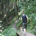 auf Weg zur Gleichenberg-Alm