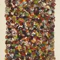 """Fuge"", Öl auf Leinwand,  28 x 17.5 cm, 2017"