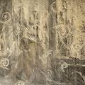 """""""Vorhang"""". Öl auf Leinwand, 90 x 116 cm, 2010-2017"""