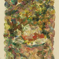 """""""Studie zu Weißer Hut"""". Öl auf Leinwand, 16 x 10 cm, 2017"""