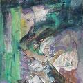 """""""Der Brief"""". Öl auf Leinwand 74 × 52 cm, 2008"""