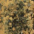 """Goldener Traum"". Öl auf Leinwand, 49 x 37 cm, 2014-2017"