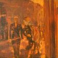 """""""Spiegelstadt I"""". Öl auf Leinwand, 85 × 100 cm, 2007"""