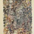"""""""Meditation"""", Öl auf Leinwand, 31 x 20.5 cm, 2017"""