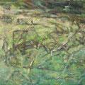 """""""Ufer 2. Die Verlassenen"""". Öl auf Leinwand, 68 × 100 cm, 2009"""