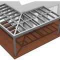 Terrassenüberdachung Eck