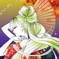 紅の姫【2011.10月秋イラスト】