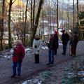 Etwas unterkühlt im Schatten des Neckarriedkopfs am Weststadt-Waldrand