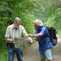 Orientierungsbedarf: Ingo Pedal und Michael Schmutz  - Foto Wolf Seidel