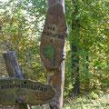 Hier entlang: Via Naturae - Foto W. Seidel