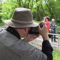 Hartmut schiesst mit scharfer Optik...  © I. P.