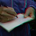 Liese notiert fleißig