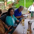Eliane, Helga, Günter, Hardtmuth (verdeckt) und Kuno