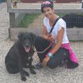 Nero (Labradormischling) und ich