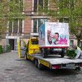 Kunst S:nack und der ADAC, Berlin, 2010