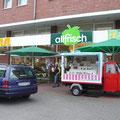 Nicht nur die beste Fleischtheke-  auch noch die beste Kunsttheke, Aktion in Osnabrück, Allfrisch/Wellmann - Lotter Straße, 2010