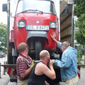 Bonn, im Rahmen des Gabriele Münter Preises - Verladen zum Rücktransport, 2010