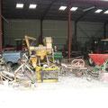 Garage à matériels