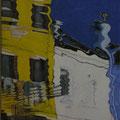REFLET MURANO - Acrylique sur canevas - 29x23 - VENDU