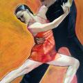 TANGO - Acrylique sur canevas - 24x36 - 250$