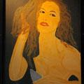 LA BELLA 1 - Acrylique sur canevas - 20x24 - VENDU
