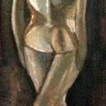 LA BALLERINA - Acrylique sur canevas - 17x38 - 250$