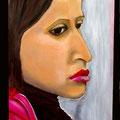 SONGEUSE - Acrylique sur canevas - 24x48 - 300$