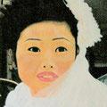 LA MARIÉE CHINOISE - Acrylique sur canevas - 34x45 - 450$