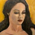 UNE BELLE - Acrylique sur canevas - 24x30 - 250$