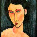 JEANNE - Acrylique sur canevas - 20x16 - VENDU