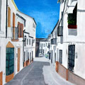 COSTA LA LUZ - Acrylique sur canevas - 24x30 - VENDU