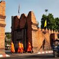 Die tolle Altstadt von Chiang Mai ist umgeben von alten Stadtmauern und einem Wassergraben