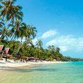 Der Maenam-Beach ist ebenfalls ein Traum