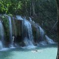 In Koh Samui gibt es auch ein paar kleinere Wasserfälle