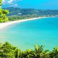 Die Kamala Beach lädt ebenfalls zum baden und geniessen ein
