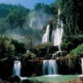In der näheren Umgebung gibt es einige spektakuläre Wasserfälle zu bestaunen