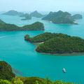 Der wunderschöne Ang Thong Meeresnationalpark