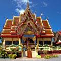 Auch wunderbare Tempel finden Sie auf der Kokosnuss-Insel