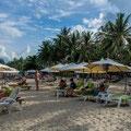 Der Chaweng Beach ist der grösste und bekannteste Strand