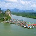 Das Fisherman Village ist ein bekanntes Ausflugsziel