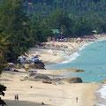 Der Lamai Beach ist etwas ruhiger und ebenfalls traumhaft schön