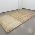 'untitled (Moonwalk-Dancefloor)', varnish on plywood, painted roof laths, screws, 230 x 366 x 5,5 cm, 2009