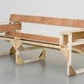 'untitled (M. Breuer-B3-Wassily-Strecher)', wood, screws, 74 x 78 x 180 cm, 2007