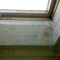Dachfenster – Wasserschaden vorher