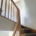 Treppengeländer vorher