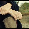 Ensemble bracelet et bague Couture - Argent premier titre