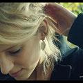 Boucles d'oreilles Couture GM - Argent premier titre